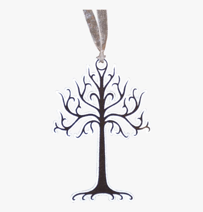 Tree Of Gondor Ornament Set - White Tree Of Gondor Png, Transparent Png, Free Download