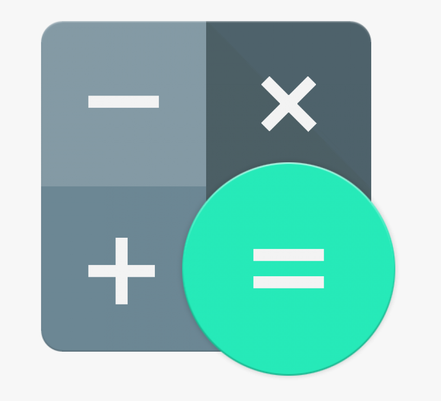 Calculator Icon Android Lollipop Png Image - Android Calculator Icon Png, Transparent Png, Free Download