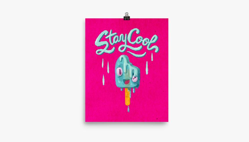 Melting Popsicle Art Printposter - Greeting Card, HD Png Download, Free Download