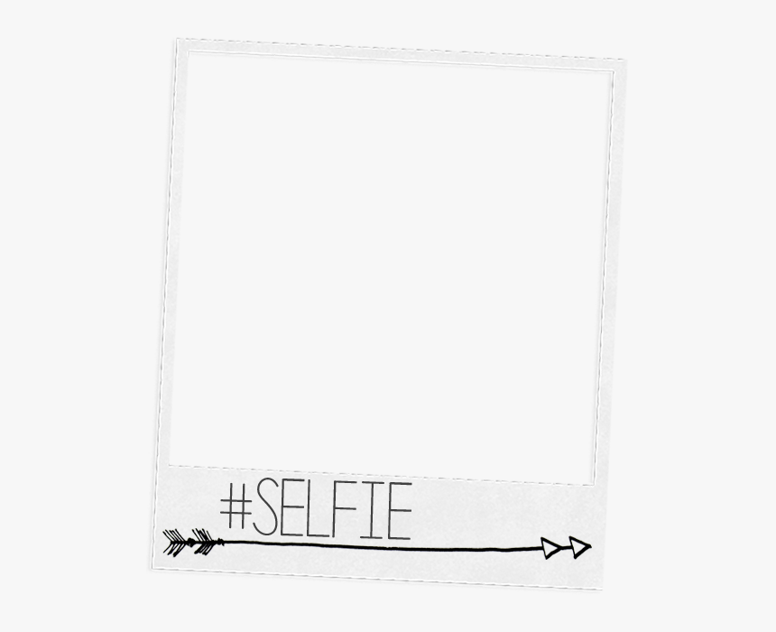 Polaroid Overlay Png - Line Art, Transparent Png, Free Download