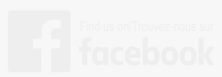 Transparent Background Find Us On Facebook Logo, HD Png Download, Free Download