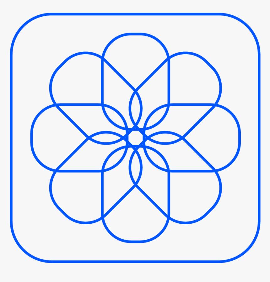 Photo App Icon - Free Printable Rangoli Patterns, HD Png Download, Free Download