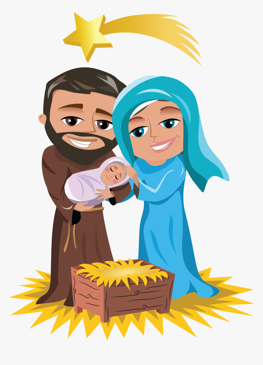 Teachers Workshop Teaching The - Mary Joseph Jesus Clipart, HD Png Download, Free Download