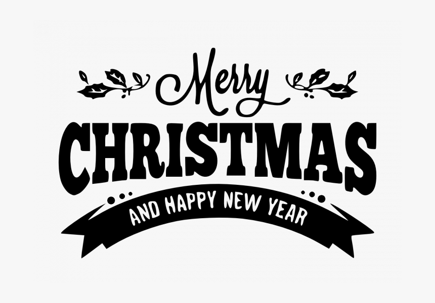 Merry Christmas And Happy New Year Png , Png Download - Tulisan Merry Christmas And Happy New Year Png, Transparent Png, Free Download