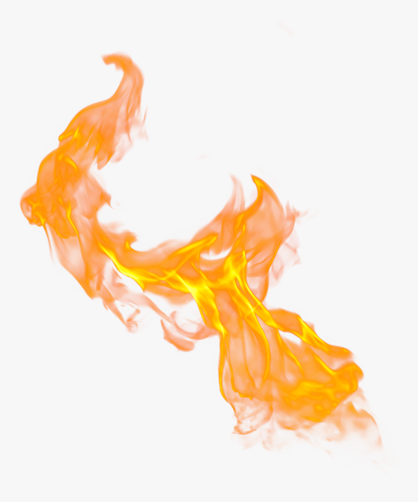 #fire #flame #orange #nature #element #glow #effects - Flame Fire Transparent Background, HD Png Download, Free Download