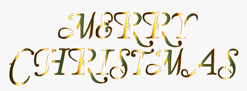 Transparent Christmas Text Png - Merry Christmas White Background, Png Download, Free Download