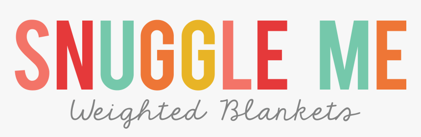 Snuggle Me Weighted Blankets - Graphic Design, HD Png Download, Free Download
