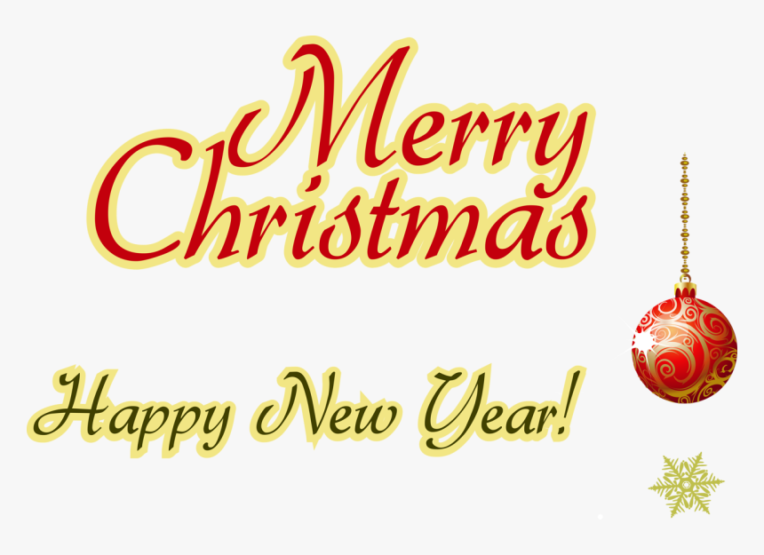 happy new year text transparent download merry christmas and happy new year transparent card hd png download kindpng year transparent card hd png download