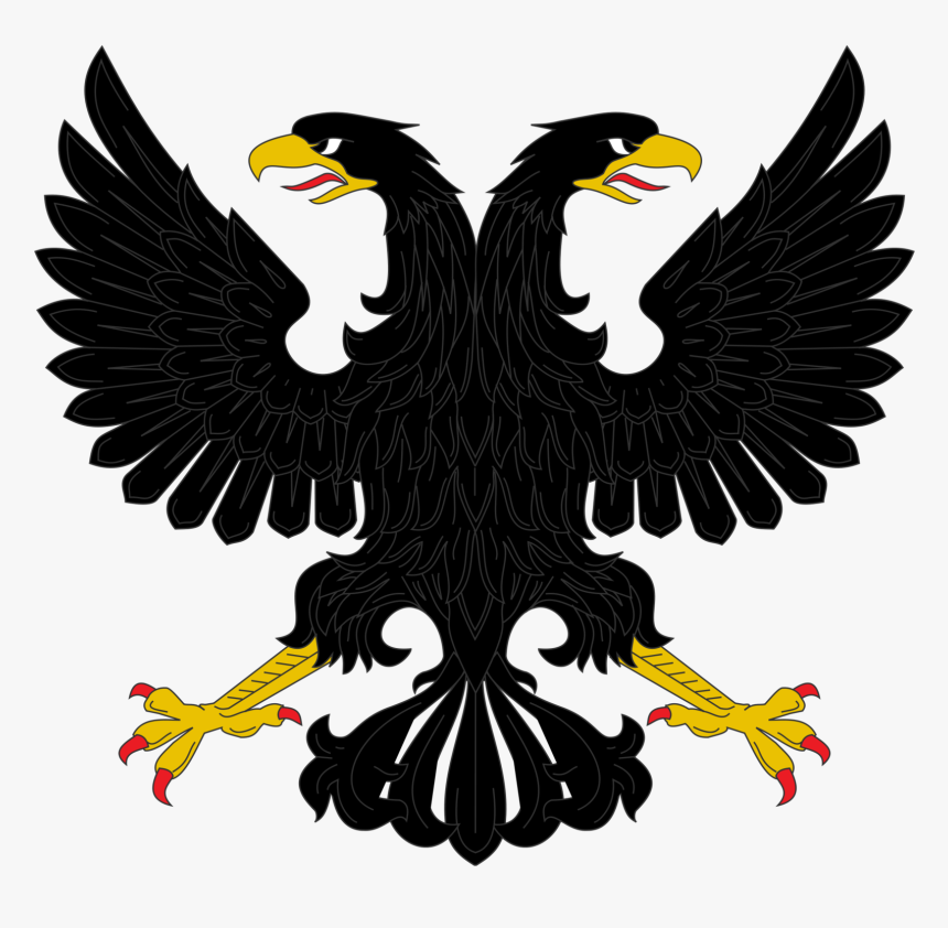 Black Double Headed Eagle, HD Png Download, Free Download