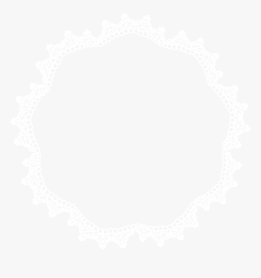 Scalloped Border Png -lace Border Png - Circle Lace Border Png, Transparent Png, Free Download