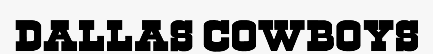 Dallas Cowboys - Dallas Cowboys Word Logo, HD Png Download, Free Download
