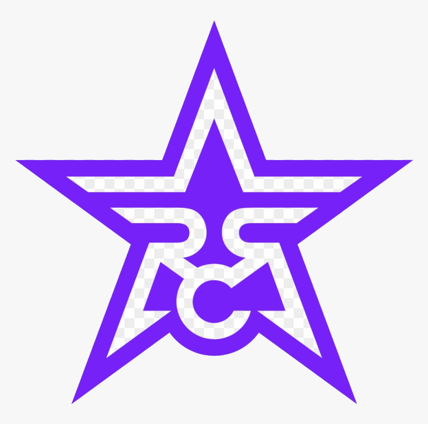 Dallas Cowboys Rose City Rollers Star Clipart Transparent - Cowboys Logo Black And White, HD Png Download, Free Download