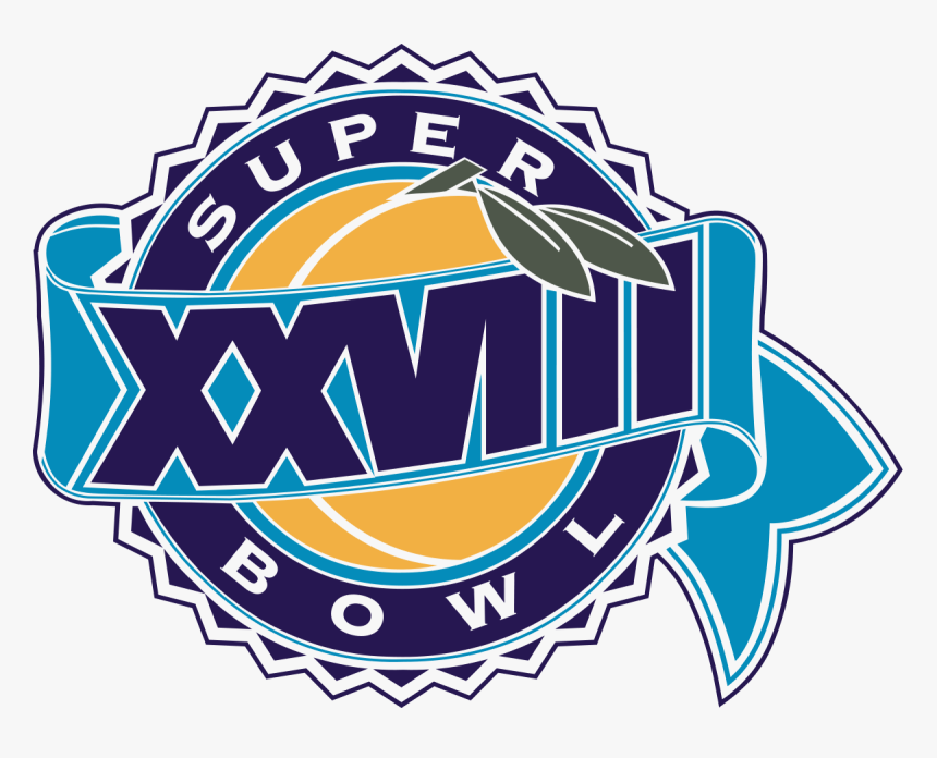Super Bowl Xxviii Logo, HD Png Download, Free Download