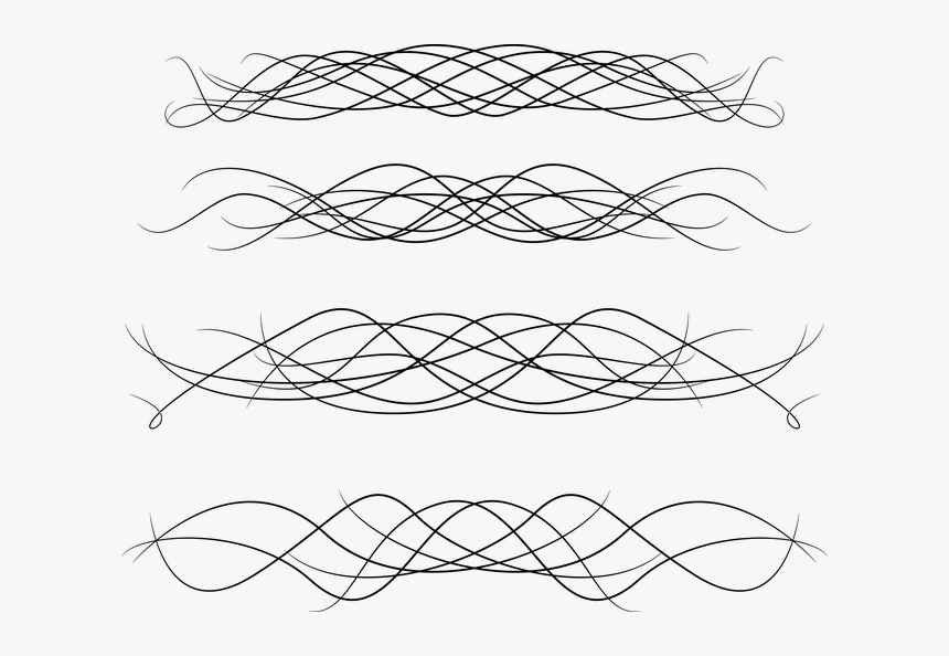 Transparent Swirl Divider Png - Portable Network Graphics, Png Download, Free Download