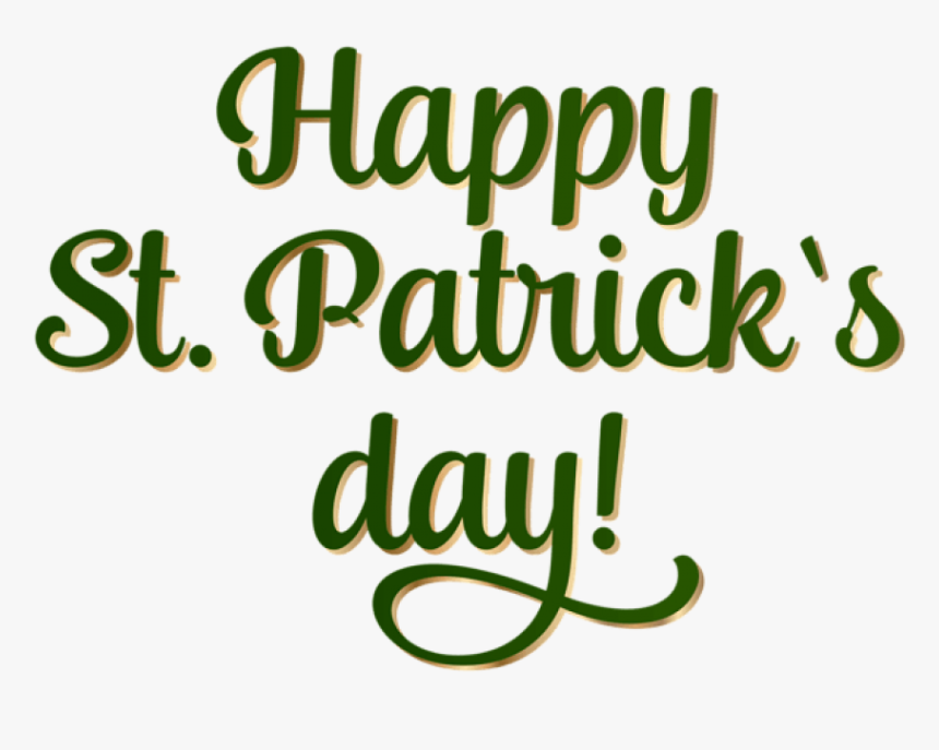 "Free Png Happy Saint Patrick""s Day Png Images Transparent - Happy St Patricks Day Clip Art, Png Download, Free Download"