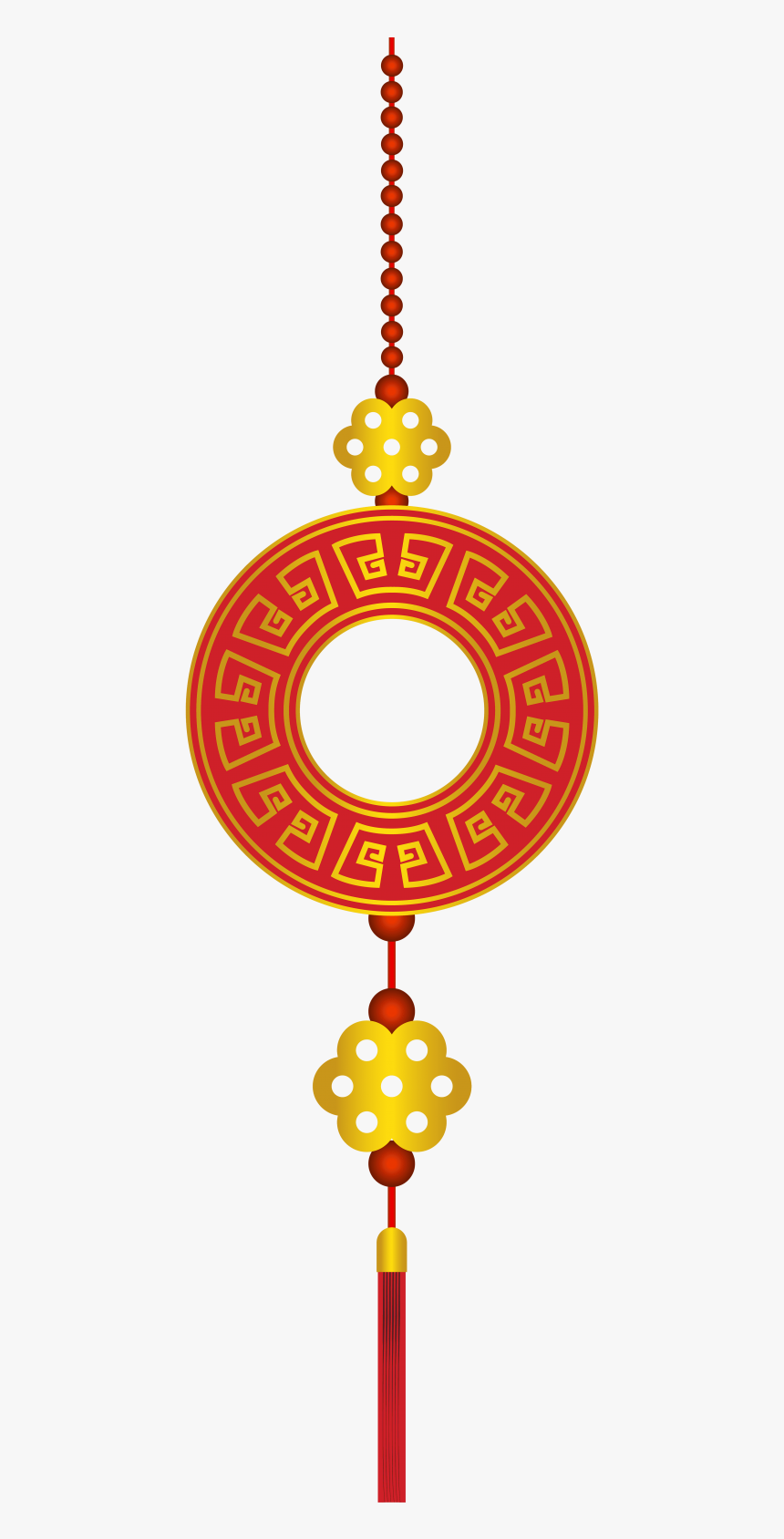 Decor Png Free Images - Chinese New Year Lampion Png, Transparent Png, Free Download