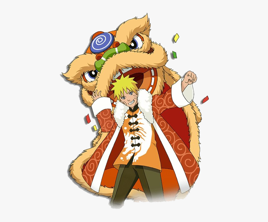 Happy Chinese New Year Png - Transparent Naruto Chinese New Year, Png Download, Free Download