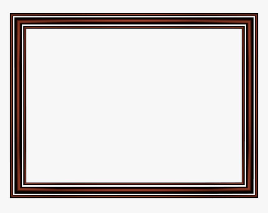 Shiny Metallic Elegant Embossed Frame Rectangular Powerpoint - White Tiger Painting India, HD Png Download, Free Download