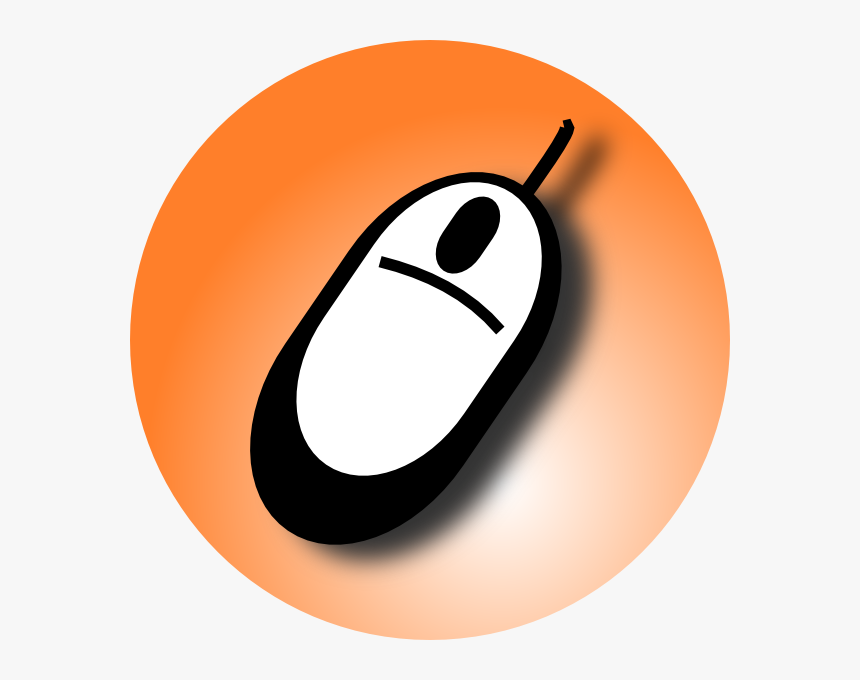 Transparent Background Computer Mouse Cartoon, HD Png Download, Free Download