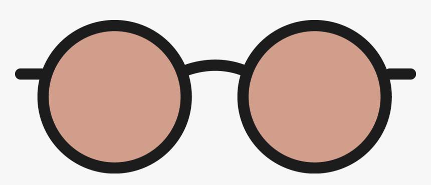 Protective Care,clip Sunglass,material Property,transparent - Pink Round Glasses Vector, HD Png Download, Free Download