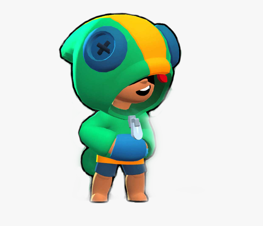 Leon Kennedy Png -leon Brawl Stars, Hd Png Download - Brawlers Do Brawl Stars, Transparent Png, Free Download