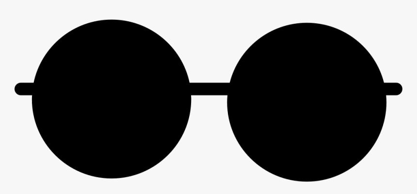 Black Round Glasses Png, Transparent Png, Free Download