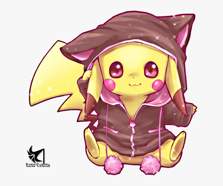 Transparent Cute Pikachu Png - Anime Cute Pikachu, Png Download, Free Download