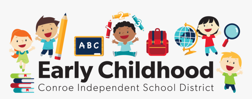 Early Childhood Logo With Kids Jumping In The Air, HD Png Download, Free Download