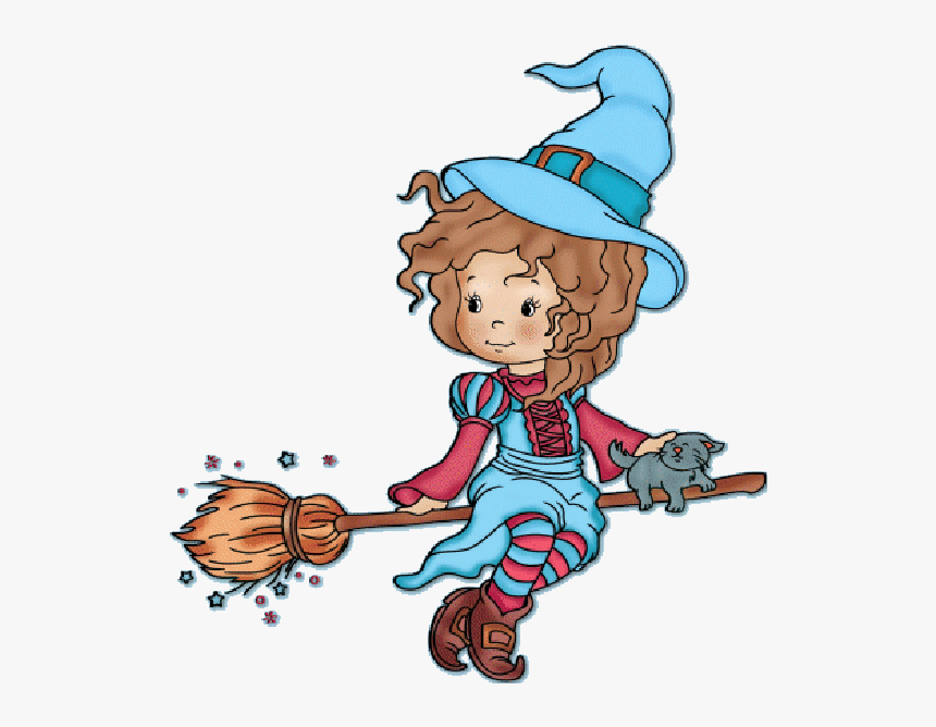 The Friendly At Getdrawings Cartoon Cute Witches Hd Png
