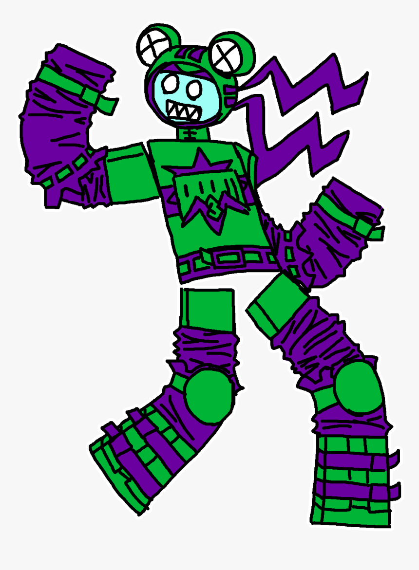Zombie De Roblox Png Roblox Nerf Frog Zombie Hd Png Download Kindpng
