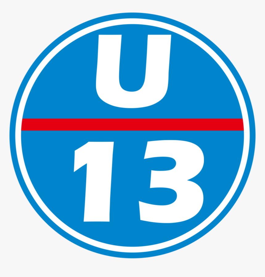 U-13 Station Number - Circle, HD Png Download, Free Download