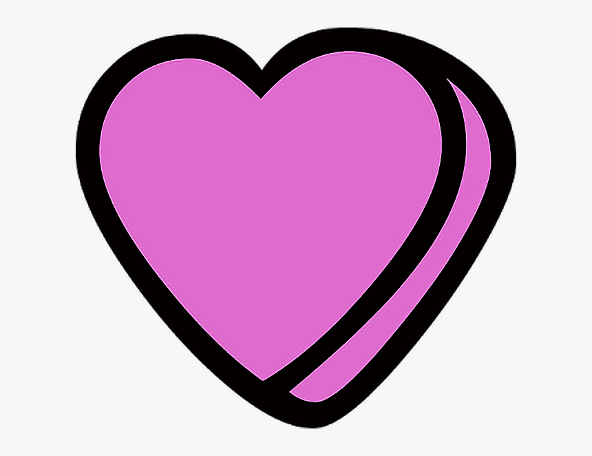 #tumblr #whatsapp #emoji #emoticon #cool #pretty #nice - Heart, HD Png Download, Free Download