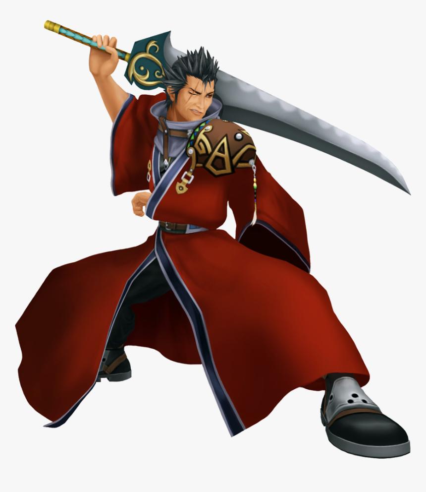 Auron Khii - Final Fantasy X Young Auron, HD Png Download, Free Download