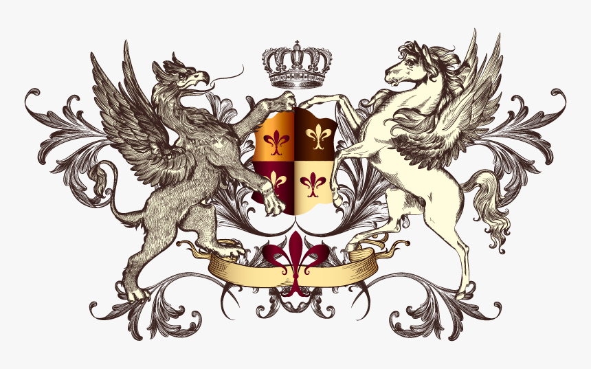Pegasus Coat Of Arms, Hd Png Download - Griffin On Coat Of Arms, Transparent Png, Free Download
