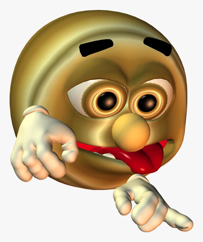 Transparent Thumb Emoji Png - Cursed Emoji Meme Hand, Png Download, Free Download