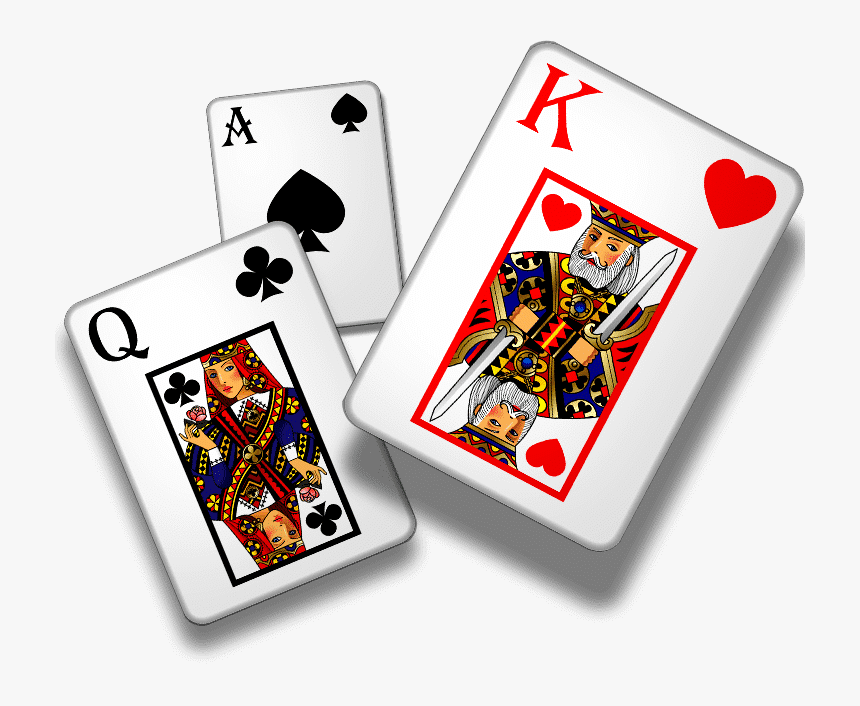 Transparent King Of Hearts Playing Card Clipart - Card Game, HD Png Download, Free Download