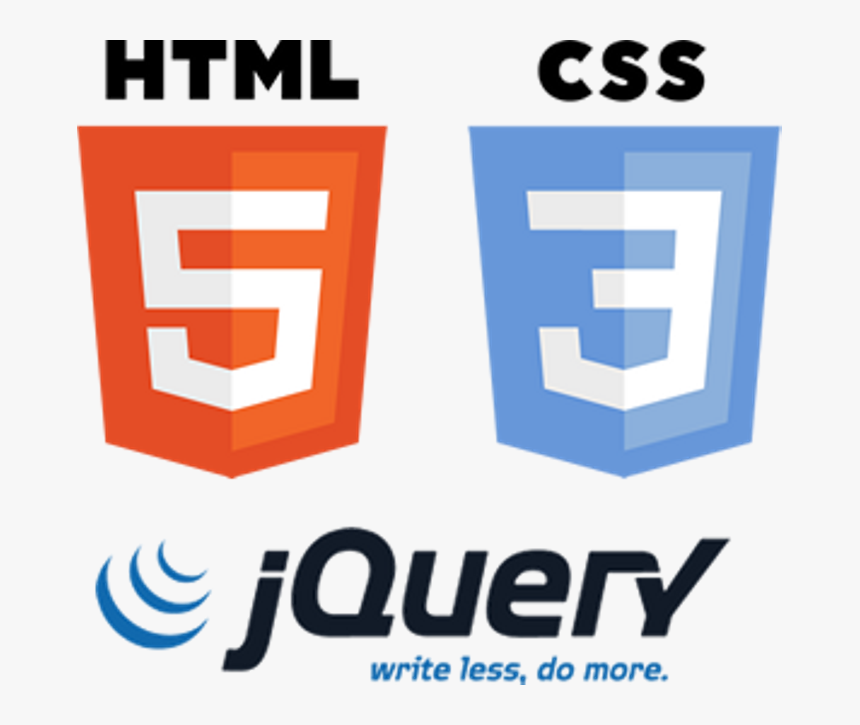 Css Logo Jquery - Html Css And Jquery, HD Png Download, Free Download