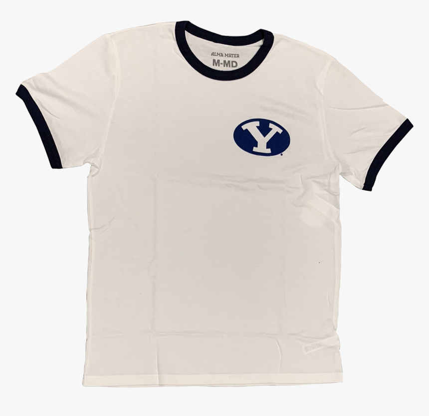 """Brigham Young University Cougars Men""""s Ringer Tee""""  - T-shirt, HD Png Download, Free Download"""