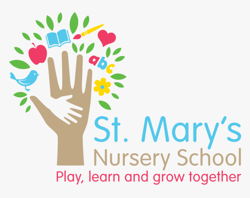 St Marys Nursery Logo Png File - Nursery School Logo Png, Transparent Png, Free Download