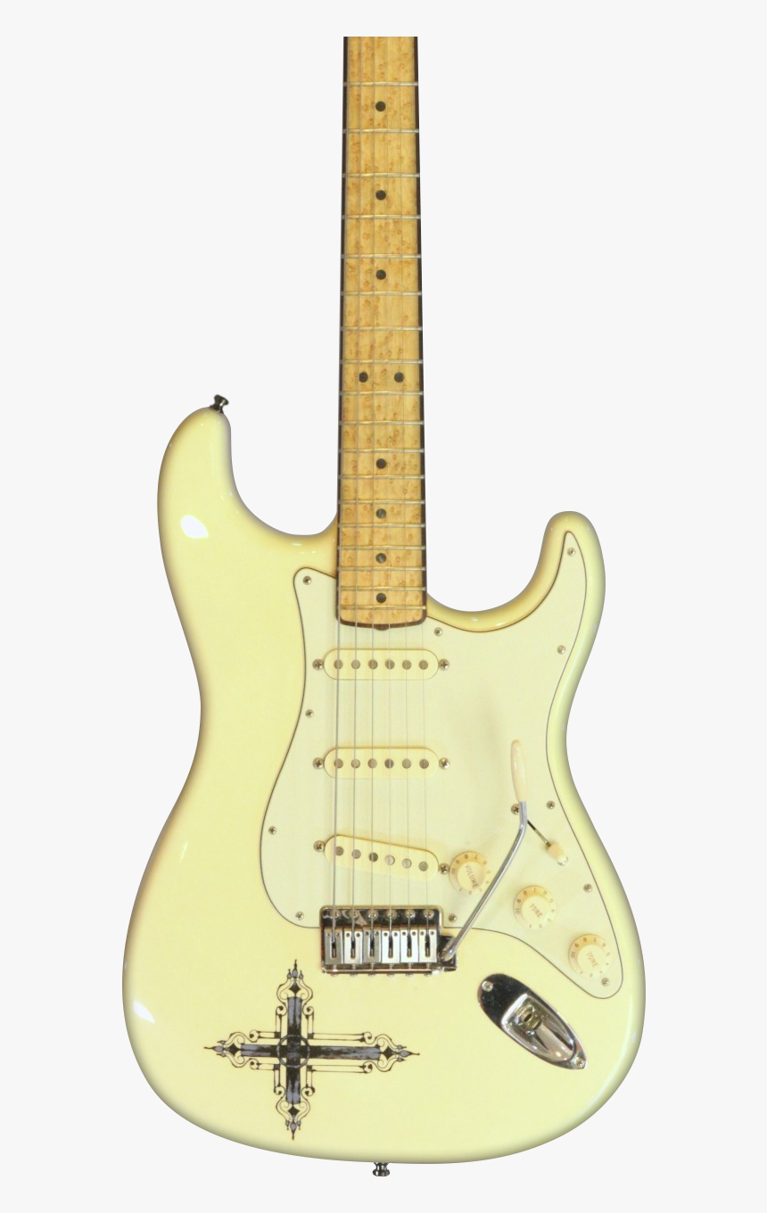 White Les Paul With Stratocaster, HD Png Download, Free Download