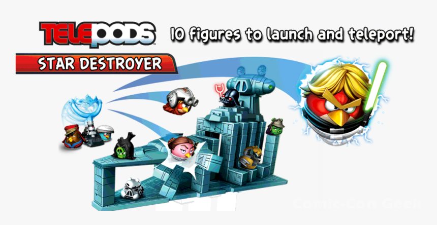 Angry Birds Star Wars Ii - Angry Birds Star Wars Toy Box, HD Png Download, Free Download