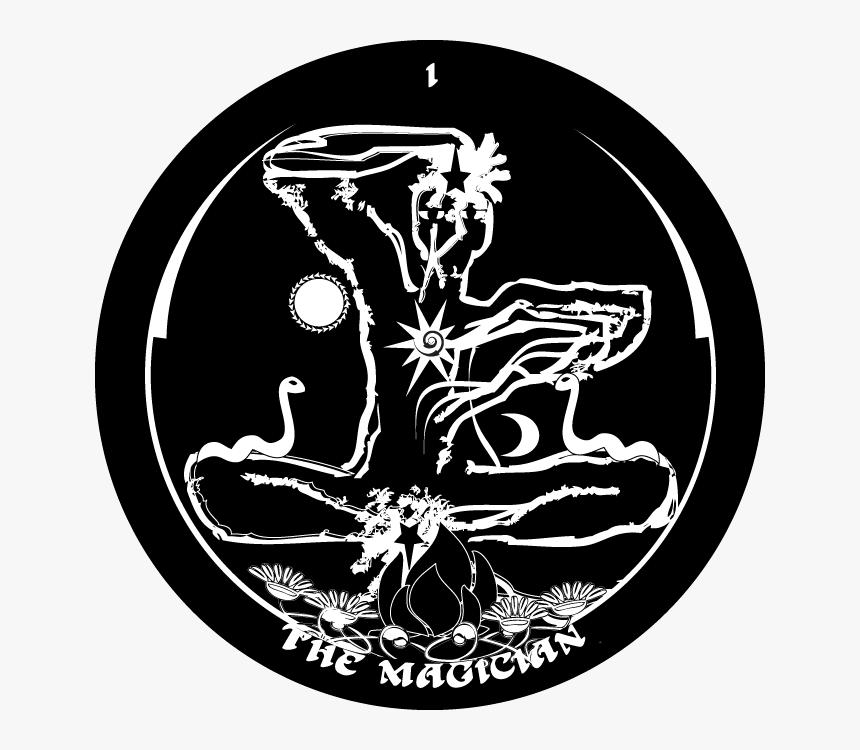 003 - The-magician - Gorgons Tarot 1 Magician, HD Png Download, Free Download
