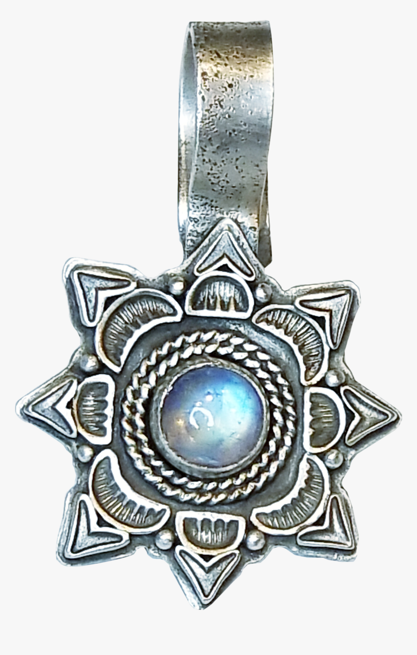 Lawrence Baca Moonstone Sun Enhancer - Locket, HD Png Download, Free Download