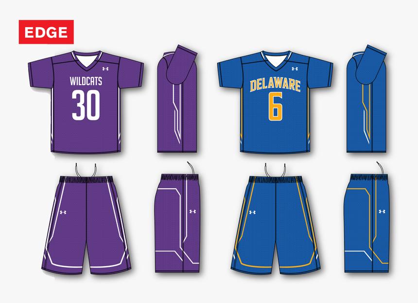 Under Armour Edge Custom Sublimated Lacrosse Uniform - Illustration, HD Png Download, Free Download