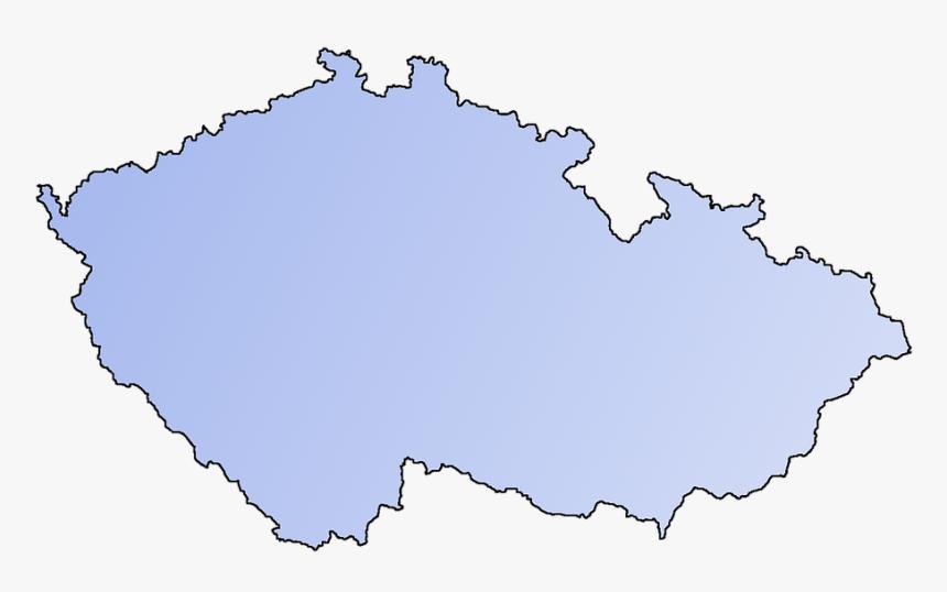 Mapa Krajů České Republiky, HD Png Download, Free Download