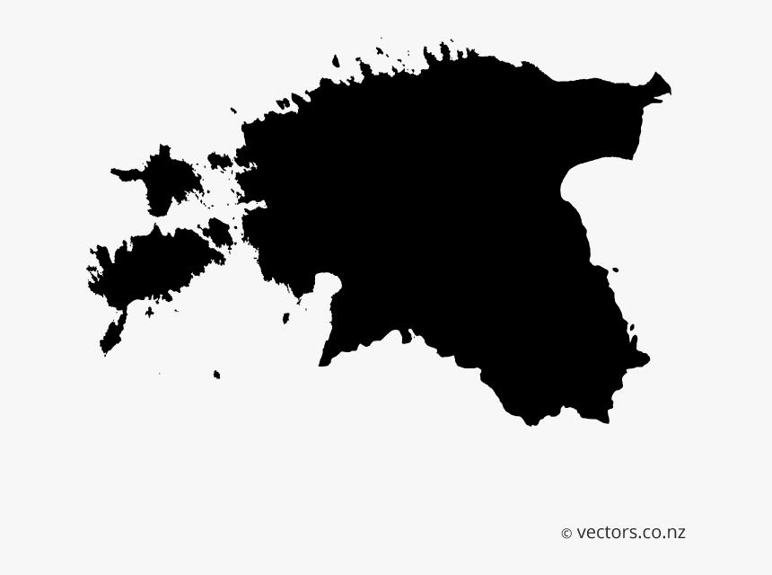 Estonia Map Vector, HD Png Download, Free Download