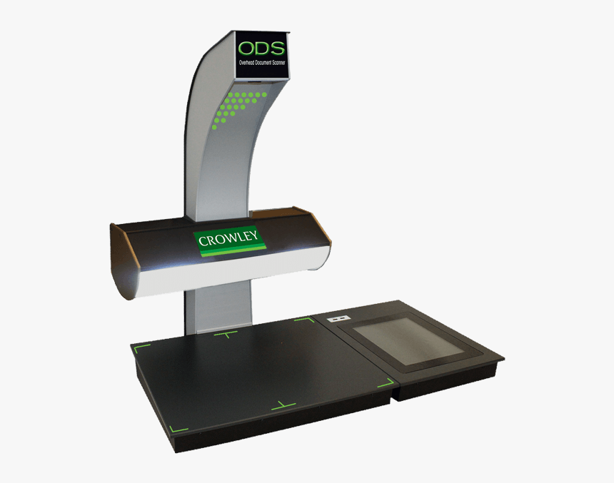 Overhead Document Scanner - Crowley Ods Scanner, HD Png Download, Free Download