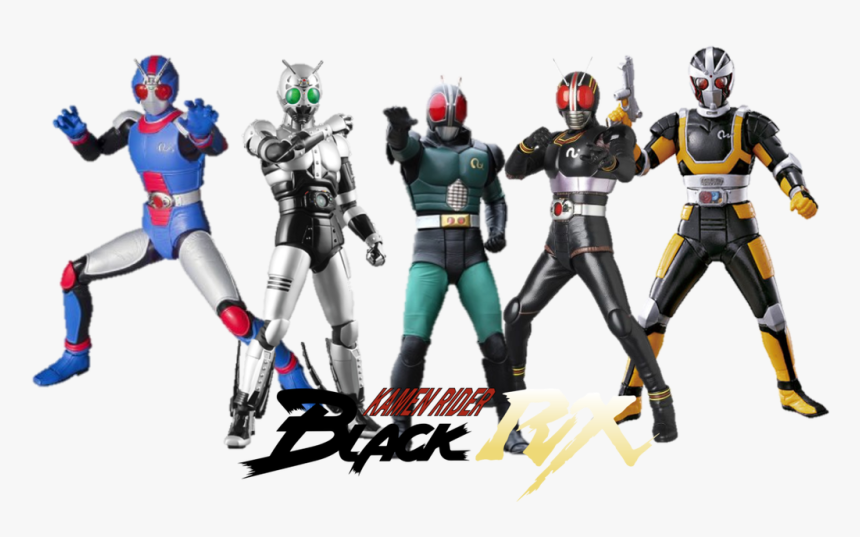 Kamen Rider Black All Riders, HD Png Download, Free Download
