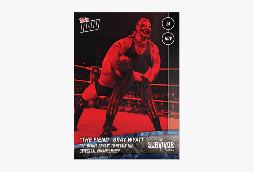 "The Fiend"" Bray Wyatt™ Def - Poster, HD Png Download, Free Download"