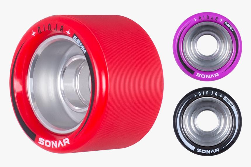 Riedell Skates Sonar Ninja Speed 62mm X 43mm Wheels, HD Png Download, Free Download